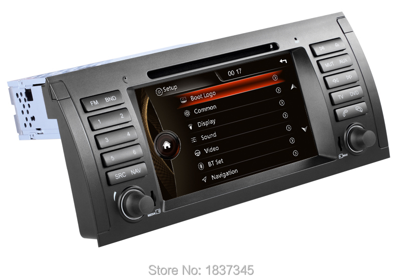 Car dvd audio system for bmw e39 for BMW E39 X5 E53 M5 Car multimedia for BMW E39 with OEM UI, RDS,GPS,USB,SD,DVD,canbus(China (Mainland))