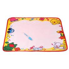 Modern 48*36CM Water Drawing Painting Writing Mat Board Magic Pen Doodle Kids Toy Gift L Feb16(China (Mainland))