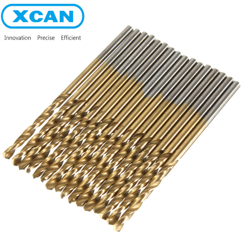 99pcs/Set Newest Titanium Coated HSS High Speed Steel Drill Bit Set Tool 1.5mm - 10mm<br><br>Aliexpress