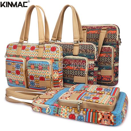"2015 hot sale new Kinmac 14"" shoulder computer bag ,canvas laptop bags for women 15.6 ,for apple macbook air 13 case bag(Hong Kong)"