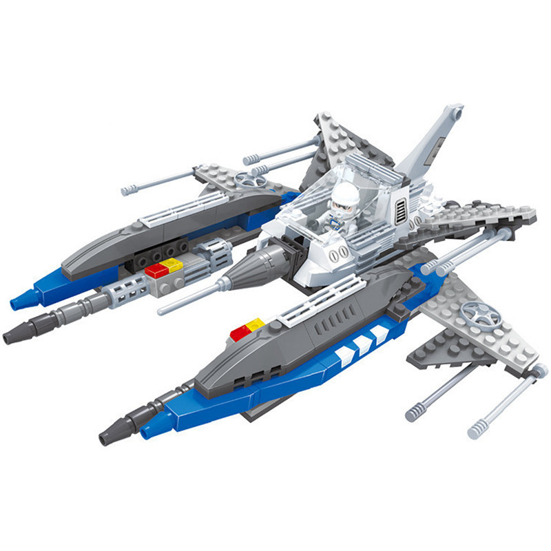Star war Warships 210pcs Building Blocks sets Compatible with LEGO DIY Troopers ships Scale Models Bricks kids Educational toys