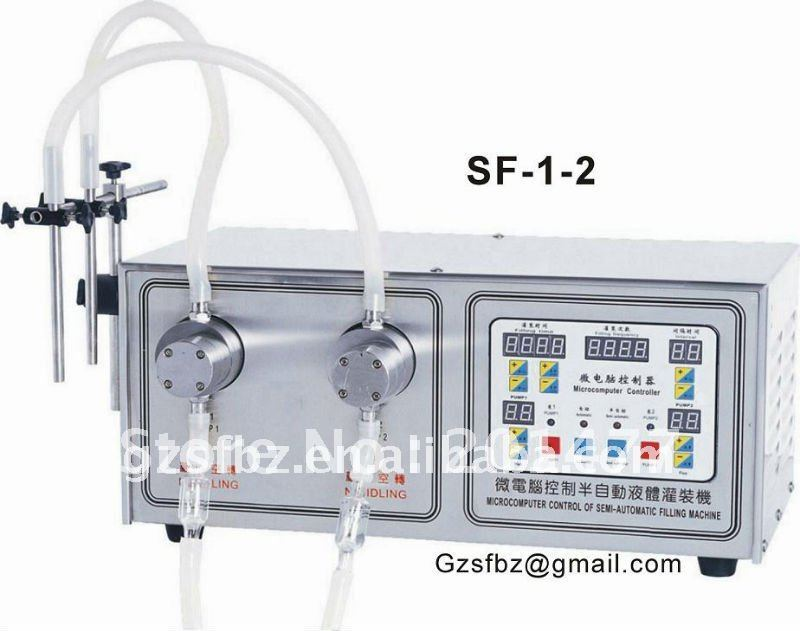 Guangzhou liquid/oil/ink/perfume filling machine