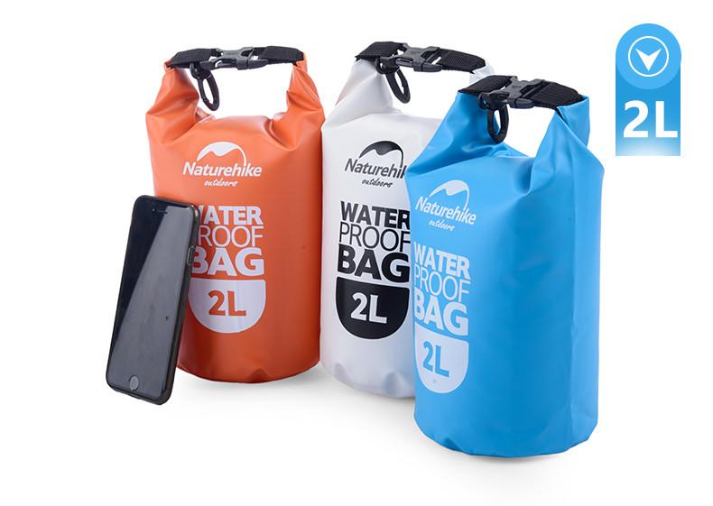 NatureHike 2L 5L High Quality Outdoor Waterproof Bags Ultralight <font><b>Camping</b></font> Hiking Dry Organizers Drifting Kayaking Swimming Bags