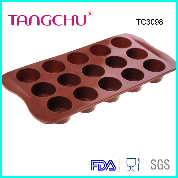 Cylindrical chocolate mold silicone ice tray