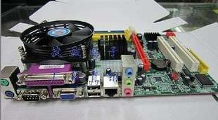 New G31 motherboard integrated 2.8G Xeon server CPU dual core + fan set with 1-year warranty