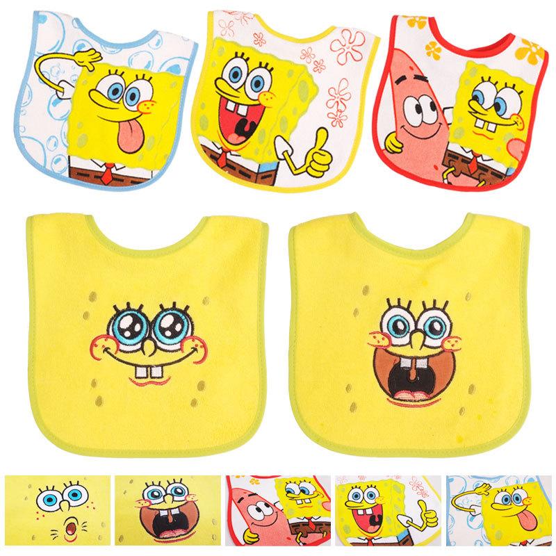 5pc/lot 75% cotton+25% polyester girls/boy baby bibs towel babador bandana bib infant towel 2015 hot sale(China (Mainland))