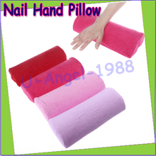 Wholesale 2pcs/lot Soft Detachable Washable Hand Cushion Pillow Nail Arm Towel Rest Nail Art Manicure Tools Drop shipping(China (Mainland))