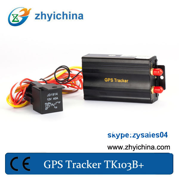 Newest gprs google map online gps tracking TK103B+ gps tracking system for car(China (Mainland))