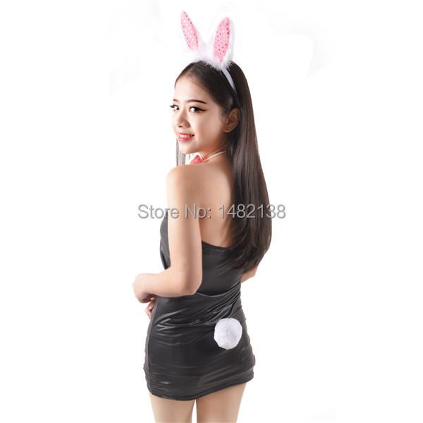 Bunny Tail Hair Pink Bunny Rabbit Ear Hair