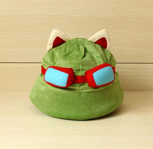 Buy LOL Teemo Plush Hat lol Great Cosplay Gamer Chirstmas gift for $4.75 in AliExpress store