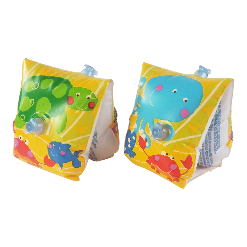 For Kids 3-6 Year Old Safety Cute Children Swim Arm Float Ring Cartoon Fish Style Inflatable Swimming Assiatant Accessory A006(China (Mainland))