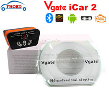 OBD2 Scanner For Android – Vgate iCar2 Bluetooth ELM327 Code Reader Diagnostic Tool 6 Colors Free Shipping