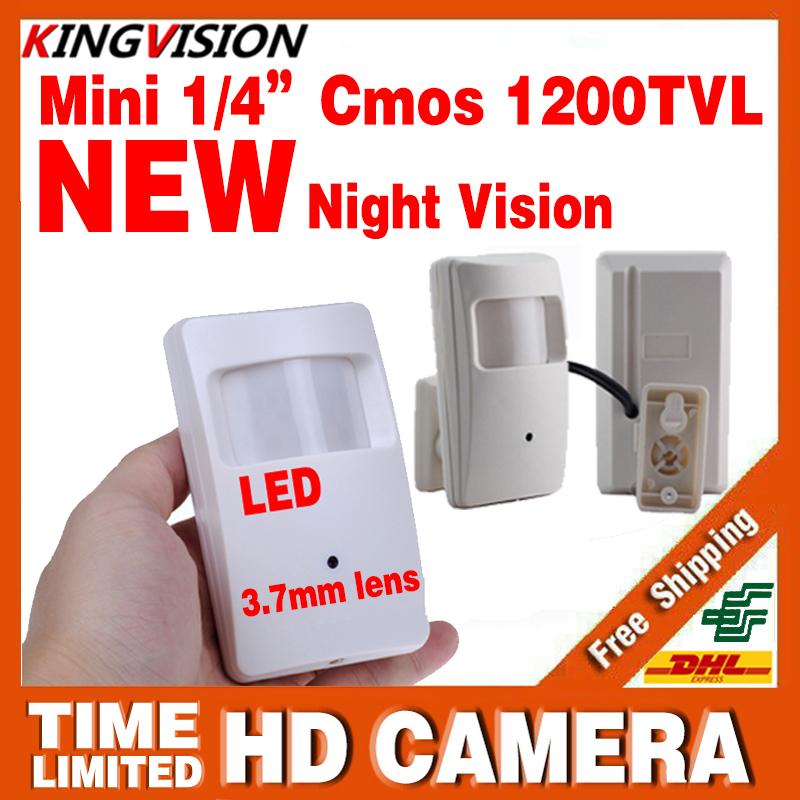 2016NEW Night Vision Infrared Probe 10m Camera 1/3CMOS1200TVL 18leds Ir-CUT HD CCTV Security Surveillance Color Video 3.7mm Lens(China (Mainland))