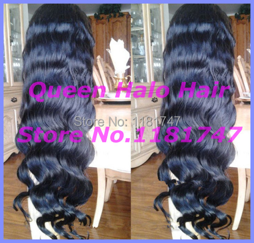 Top Quality virgin brazilian body wave full lace wig&lace front wigs remy human hair black women can be made bun free shipping(China (Mainland))