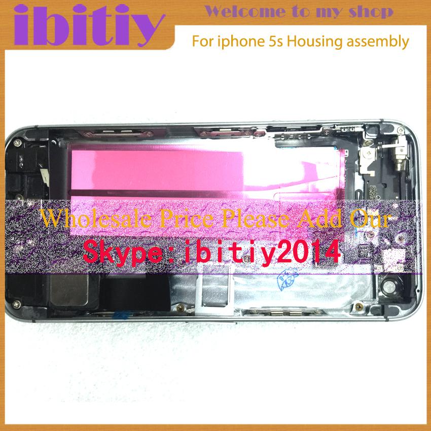 Полный корпус в сборе для iphone 5s задняя крышка