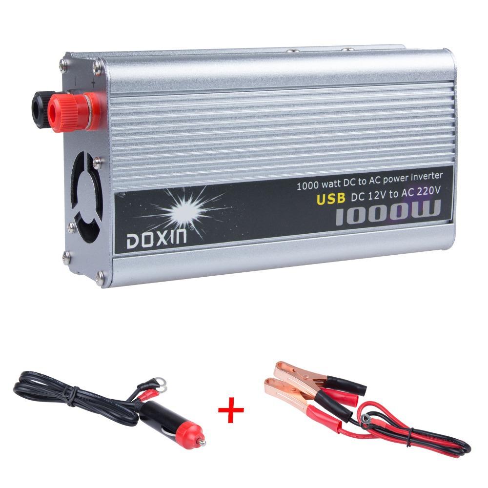 Инвертирующий усилитель мощности LEMONTREE 1000W 12 DC AC 220V USB