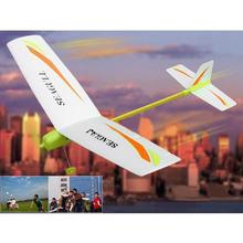 electronic toys and children's product DIY electric Paper Airplane Easy Assembly Electricity model aircraft outdoor sport &fun(China (Mainland))
