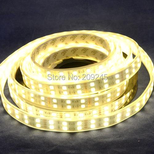 Wholesale LED Strip Light double roll 5050 120leds/m 28w 8400lm Double Line Led Strip Light(China (Mainland))
