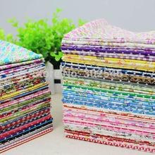 Algodão Farbic nenhum projeto de repetição flor Serier Patchwork tecido Fat Quater Bundle costura para tecido 80 pçs/lote 20 * 24 cm A1-80-1(Hong Kong)