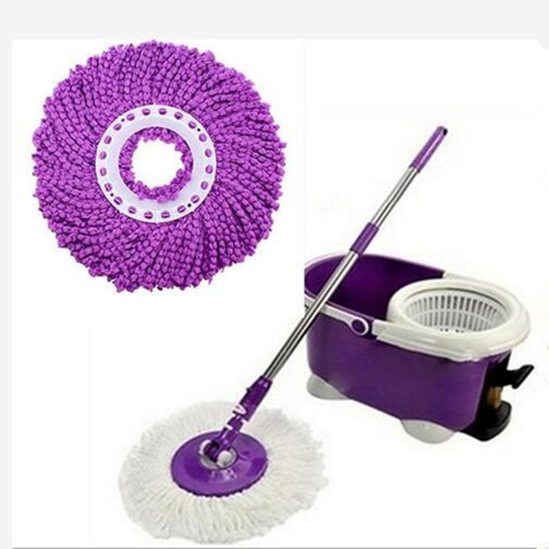New good Quality Nanometer Microfiber Cloth Mop head for Spin magic mop house cleaning super water dust absorbing(China (Mainland))