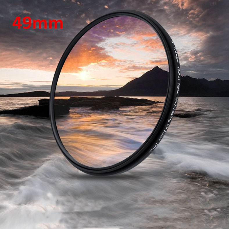 Universal 49mm UV Filter Lens Protector 49 mm camera filtros For for Sony Alpha NEX-5N NEX-5R NEX-6 NEX-7 Canon Nikon Olympus(China (Mainland))