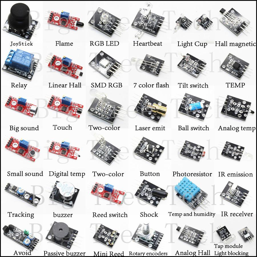 In box sensor kit for arduino starters stock good