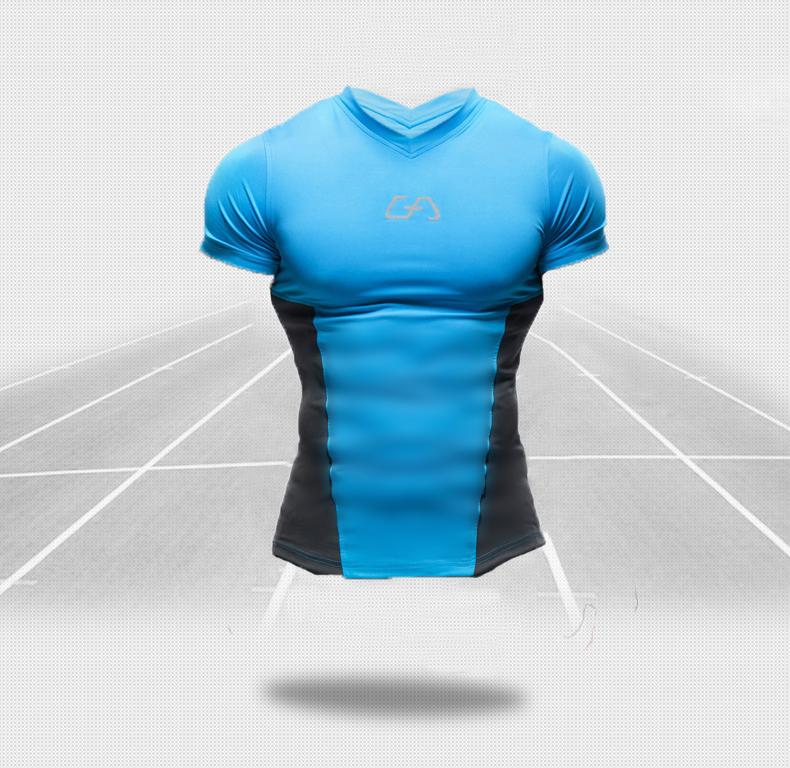New BATMAN  015 Men Sport T-Shirt Compression Base Layers Under Tops T Shirt Skins Sports Bodybuilding Fitness Slim Fit TeesОдежда и ак�е��уары<br><br><br>Aliexpress