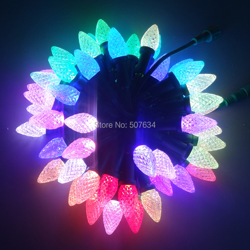 LED lighting Party Decoration 500PCS DC5V programable ws2811 garland waterproof outdoor holiday string christmas led bulb lamp<br><br>Aliexpress