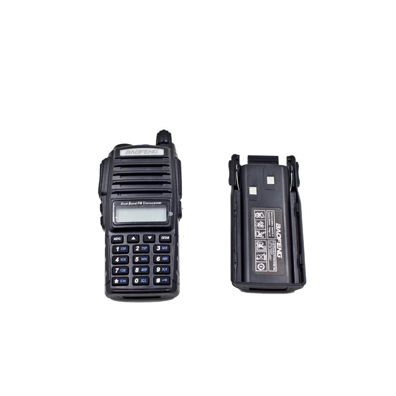 Portable Radio Walkie Talkie Baofeng UV-82 CB Ham Radio Vhf Uhf Dual Band UV 82 For Double PTT Button(China (Mainland))