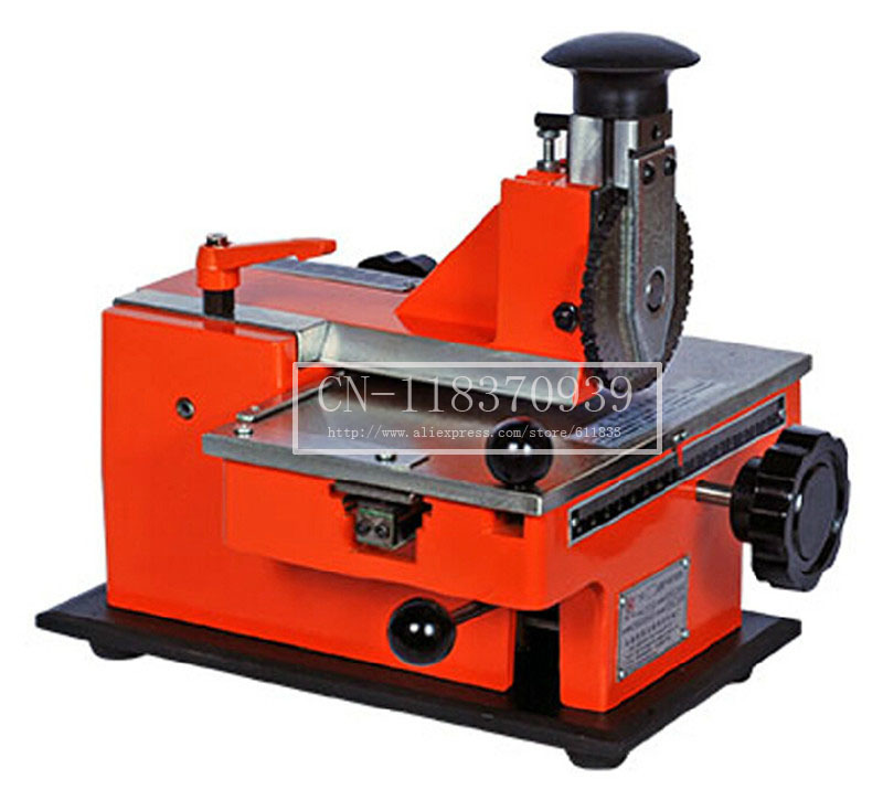 Number Plate Machine Plate Engraving Machine