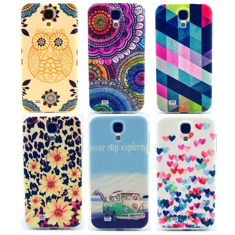 Fashion Leopard Soft Mobile Phone Cases for Samsung Galaxy S4 Case for Samsung S4 Cover i9500 Accessories RB0592(China (Mainland))