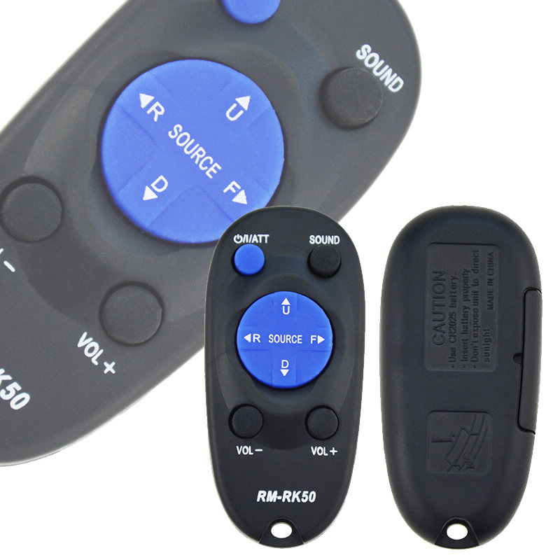 1pc Remote Control Replacement Remote Controller For Car Stereo RM-RK50 RM-RK52 MKD-A525 -A625 -A725 -AH79