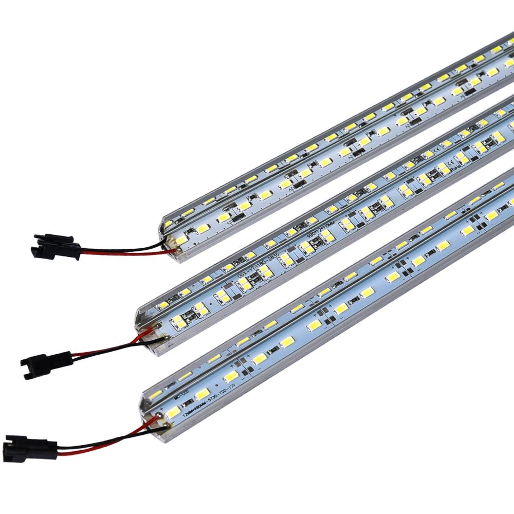 Workshop Strip Lights: LED Bar Light SMD 5730 45leds/50cm V Shape Showcase