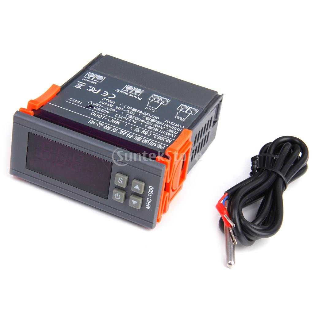 .com : Buy New Arrivals 2015 220V Digital Temperature Controller  #C54206