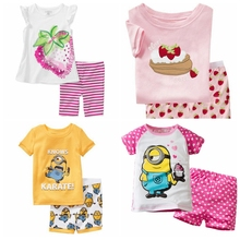 Buy 2017 hot summer new cotton boys short sleeve sets kids pajamas pijama infantil boys children's pyjamas clothing for $5.80 in AliExpress store