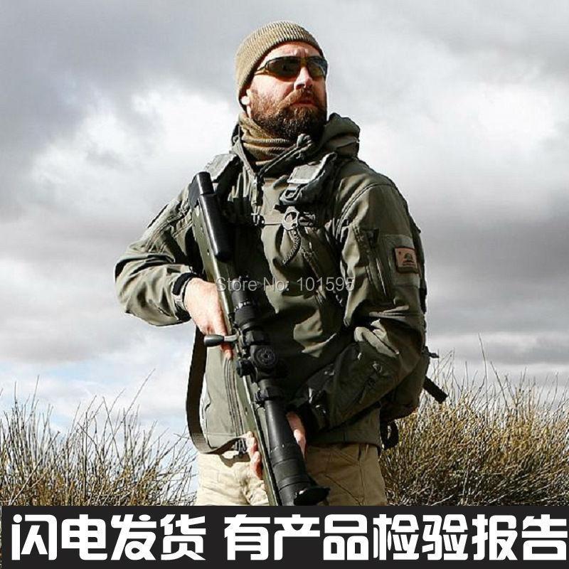 Cool Young Vigor Mature Wild Adventure Jackets Waterproof Army Sports Hunting Camping Hiking Thermal Fleece Lining Coat Jacket(China (Mainland))