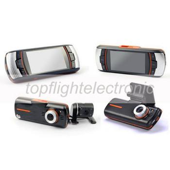"2.7""   LCD  Dual Camera Dash Camera HD 1920*1080P Car DVR H.264 5M CMOS With G-Sensor, GPS Logger HDMI & USB 2.0"