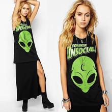 high street alien tank top women killstar boyfriend shirt punk vest 90s hip hop tee rock junior camisoles camisa das mulheres(China (Mainland))
