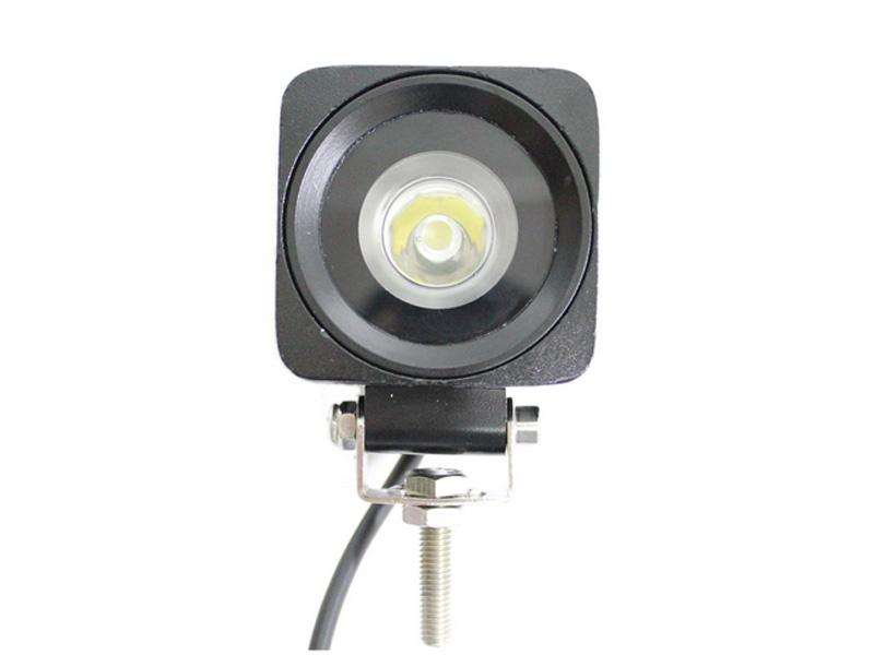 super bright 2.5inch composable Fog Driving Lamp Flood Spot lamp 10-30V 4x4 UTV Boat truck offroad 10w squre led work light(China (Mainland))