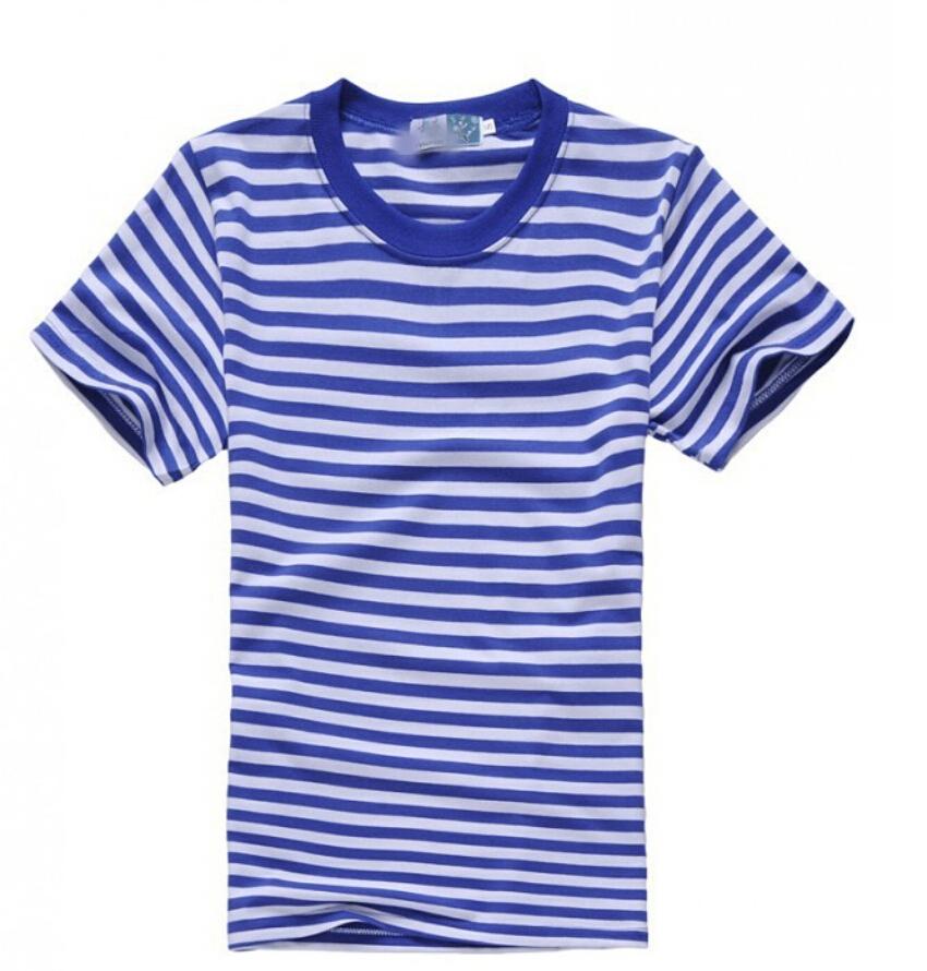 Fashion Men Sailor'S Striped Shirt T Shirt Men Summer Style Mens Graphic Tshirts 2015(China (Mainland))