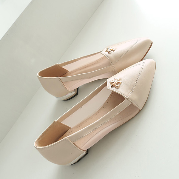 2015 summer new sweety and simple pointed-toe women pumps low heels women pumps Comfortable and breathable women shoesE1292<br><br>Aliexpress