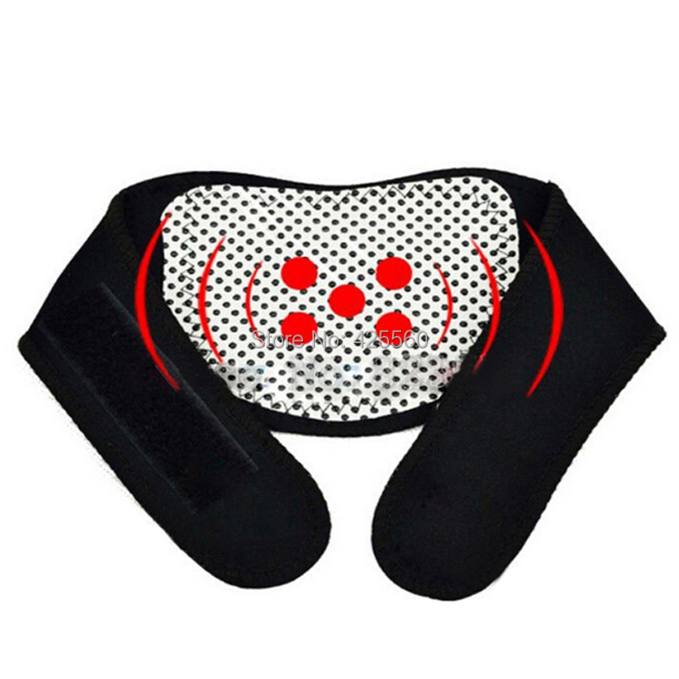 80 Pieces Tourmaline Heating Neck Pad Contain 5 Pieces Tourmaline Stones Magnetic Therapy For Keeping Warm & Relieve Pain(China (Mainland))