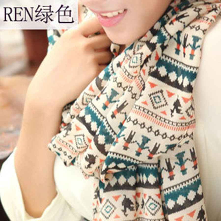 2015 New Fashion women winter and autumn Long Silk Scarf Velvet Chiffon Ladys  shawl scarves for women Одежда и ак�е��уары<br><br><br>Aliexpress