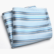 1 Piece Men's Tie Handkerchief Men Suit Towel Accessories 22*22cm Formal Striped Pocket Square Upscale Polyester Plaid Dot