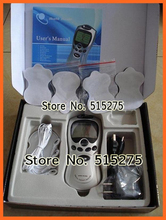 110-220V Lcd Blue screenTens/Acupuncture/Digital Therapy Machine Massager electronic pulse massager health care equipment(China (Mainland))
