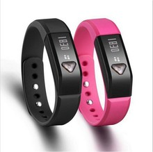 10pcs Fitness Bracelet Tracker with Pedometer/Sleep Monitor/Calorie/ OLED I5 for Android IOS Phone