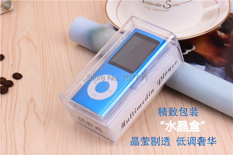 New 8GB 4th Gen MP4 Player 1.8'' Video Radio FM MP3 MP4 & Free shipping 50pcs/lot(China (Mainland))