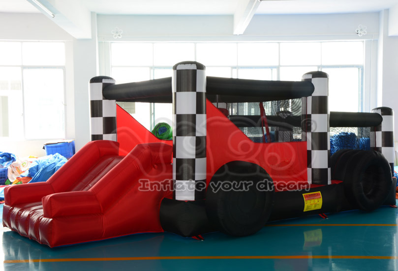 Hot selling car inflatable bouncer bounce house jumper bouncy moonwalk(China (Mainland))