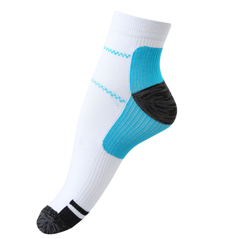 New Arrival Unisex Sport Basketball Hiking Soccer Football Foot Compression Socks For Spurs Pain Running Sock Foot Care Socks(China (Mainland))