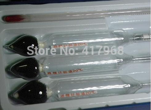 FREE SHIPPING THREE Alcohol measuring instrument AND ONE Thermometer<br><br>Aliexpress